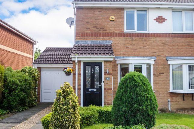Thumbnail Semi-detached house for sale in Primrose Close, Annitsford, Cramlington