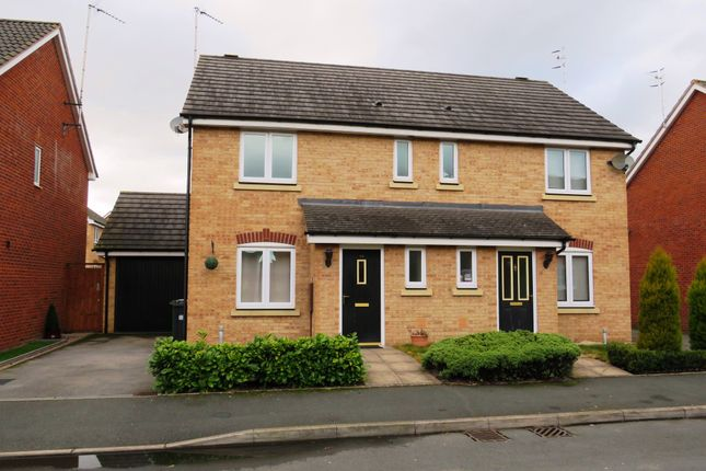 Thumbnail Semi-detached house for sale in Swan Meadow, Chase Meadow Square, Warwick
