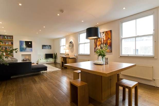 Thumbnail Flat to rent in Blenheim Crescent, London