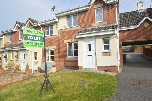Thumbnail Town house to rent in Spring Meadows, Clayton Le Moors, Accrington