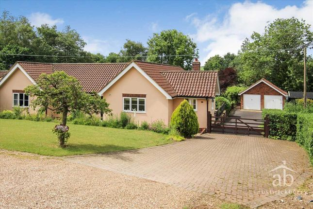 Thumbnail Bungalow for sale in Cherry Tree Cottages, Grundisburgh Road, Clopton, Woodbridge