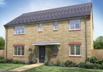 Thumbnail Detached house for sale in The Musselburgh, Wimblington Road, Doddington, Cambridgeshire