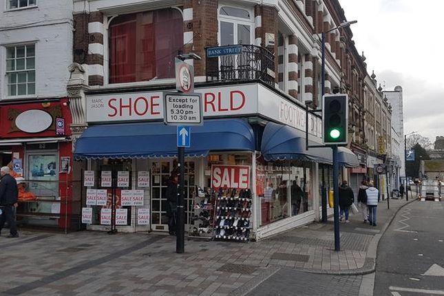 Thumbnail Retail premises to let in Bank Street, Maidstone, Kent