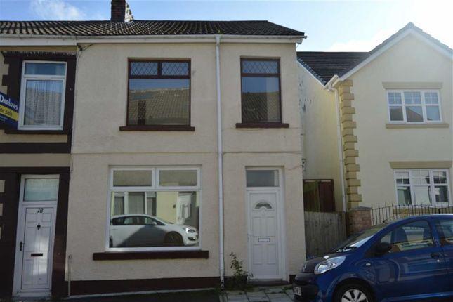 Thumbnail End terrace house to rent in Mervyn Street, Aberfan, Merthyr Tydfil
