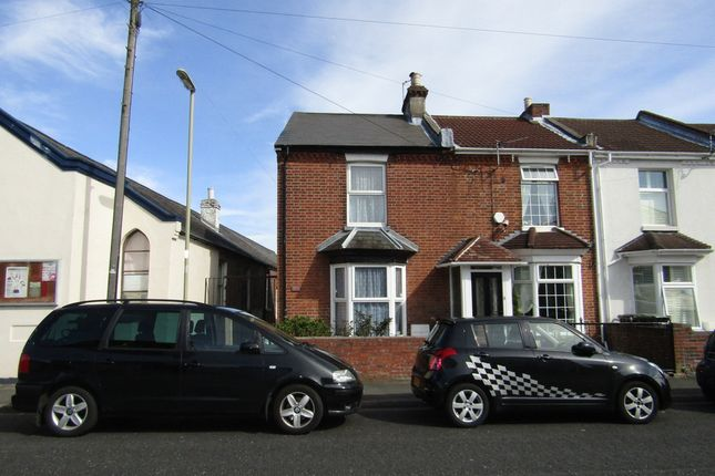 Thumbnail End terrace house to rent in Grove Road, Gosport