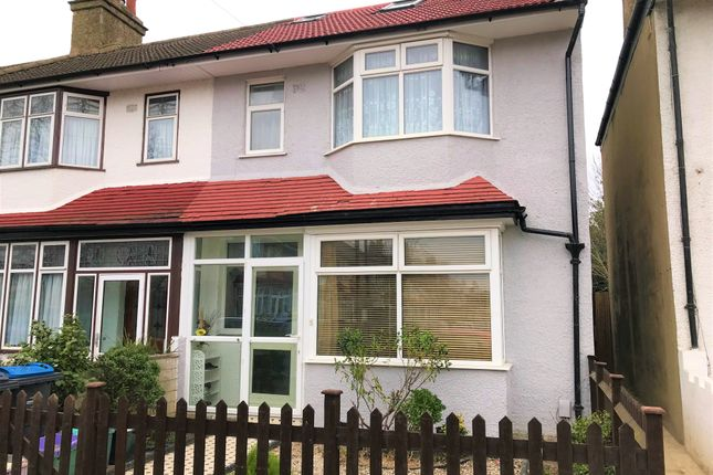 Thumbnail End terrace house for sale in Friday Road, Mitcham, Surrey