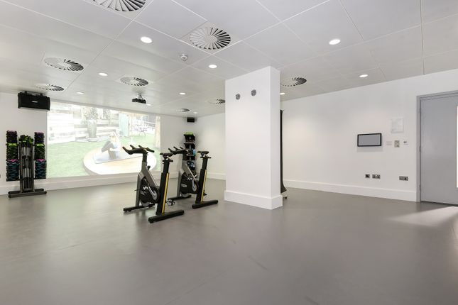 Fitness Studio of The Lighterman, 1 Pilot Walk, Lower Riverside, Greenwich Peninsula SE10
