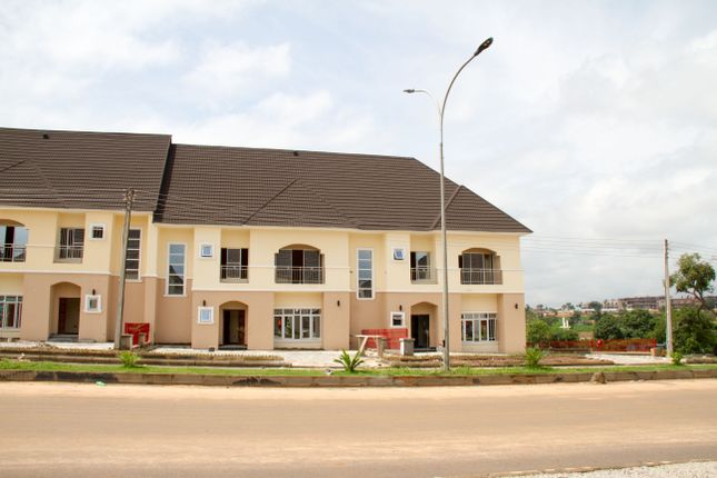 Thumbnail Terraced house for sale in 04E, Airport Road, Abuja, Nigeria