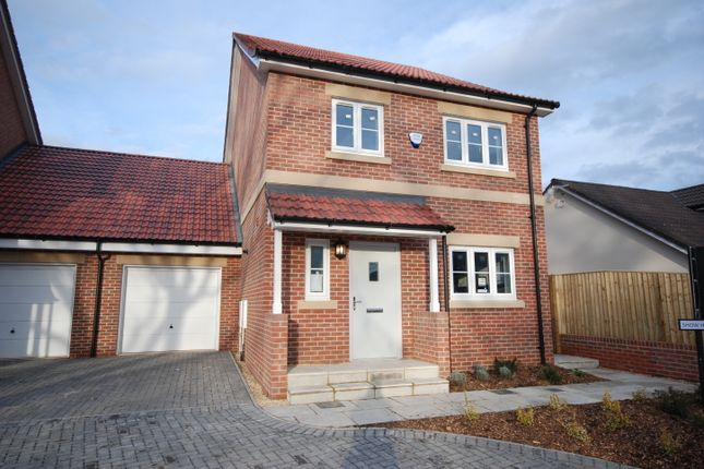 Link-detached house for sale in Elmhurst Gardens, Trowbridge