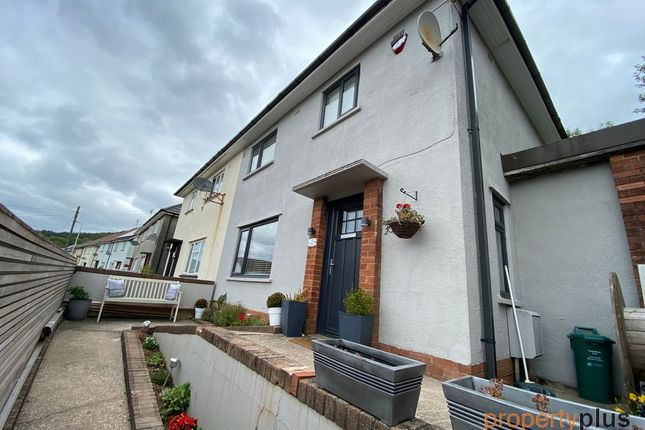3 bed semi-detached house for sale in Heol Orchwy, Treorchy -, Treorchy CF42