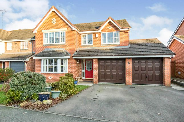 Thumbnail Detached house for sale in Woburn Drive, Congleton, Cheshire