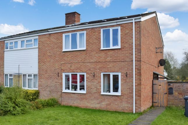 Thumbnail Semi-detached house for sale in Penwood, Highclere, Newbury