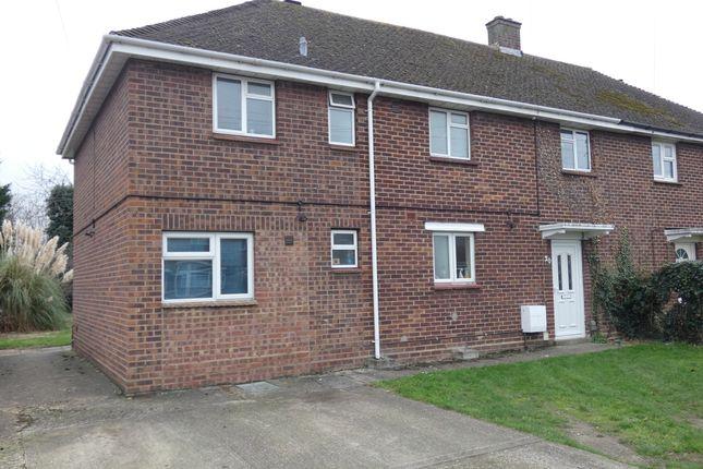 Thumbnail Flat to rent in Balliol Road, Kempston, Bedford