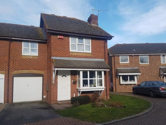 Thumbnail End terrace house for sale in Turner Close, Sittingbourne, Kent