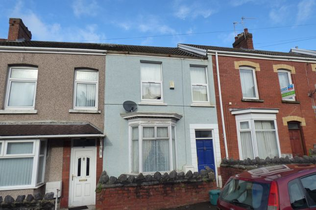Thumbnail Terraced house for sale in Park Place, Brynmill, Swansea
