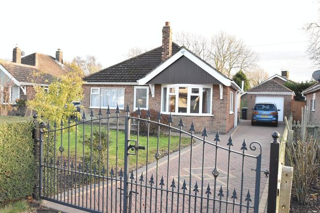 Thumbnail Detached bungalow for sale in Littlefield Lane, Marshchapel, Grimsby