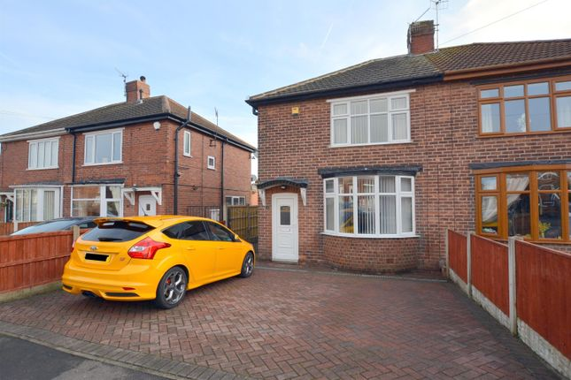 Thumbnail Semi-detached house for sale in Rayleigh Avenue, Brimington, Chesterfield