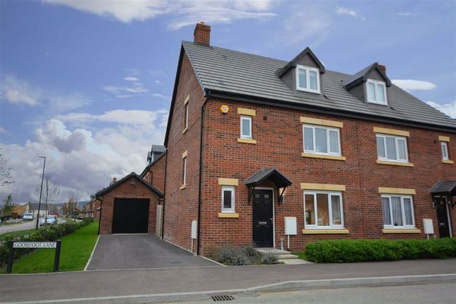 Thumbnail Semi-detached house for sale in Goosefoot Lane, Hardwicke, Gloucester
