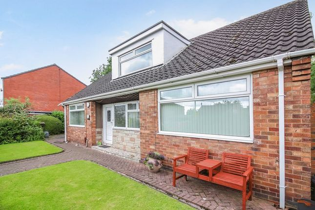 Thumbnail Detached bungalow to rent in Church Street, Little Lever
