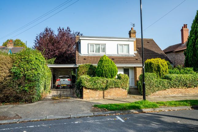 Thumbnail Detached bungalow for sale in Derwent Road, Fulford, York