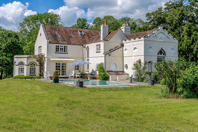 Thumbnail Detached house for sale in Padworth Lane, Lower Padworth, Reading