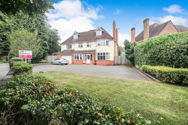 Thumbnail Detached house for sale in Seven Star Road, Solihull