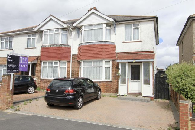 Front of Towers Avenue, Hillingdon, Uxbridge UB10