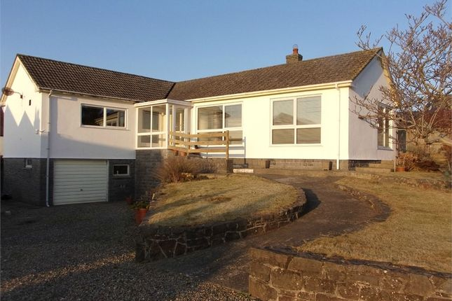 Thumbnail Detached bungalow for sale in Brynhafod, Cardigan, Ceredigion