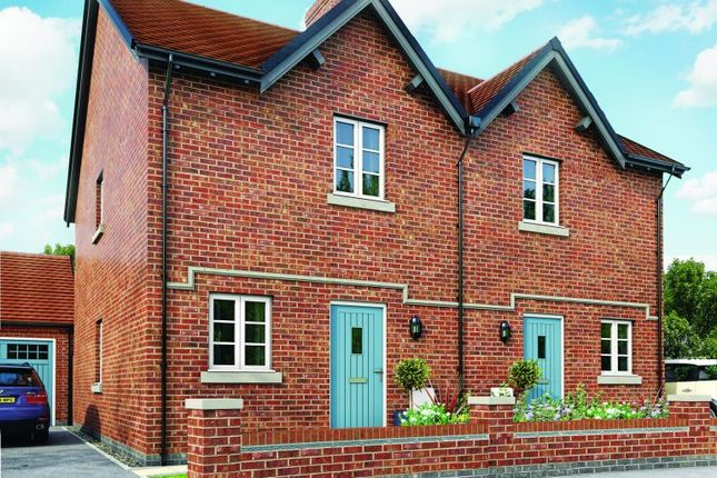 2 bedroom semi-detached house for sale in Moira, Leicestershire