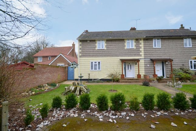 Thumbnail Semi-detached house for sale in Schoolfield, Glemsford, Sudbury