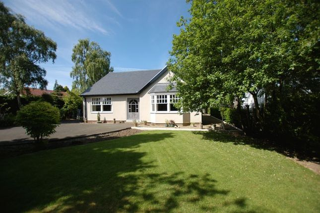 Thumbnail Detached bungalow for sale in Western Way, Darras Hall, Newcastle Upon Tyne