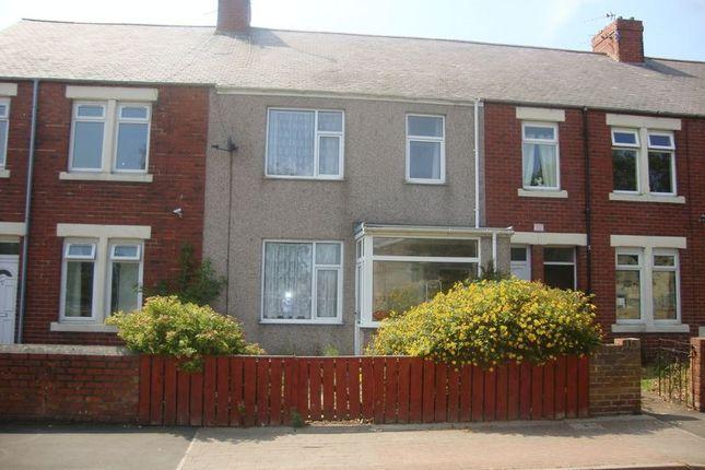Thumbnail Terraced house for sale in Alexandra Road, Ashington