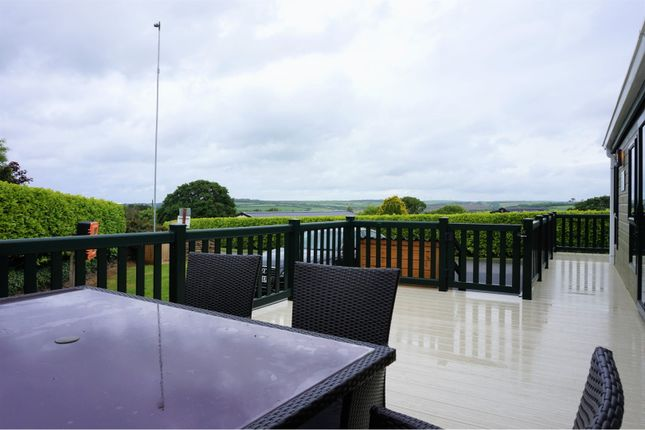 Decking of White Acre Holiday Park, Newquay TR8