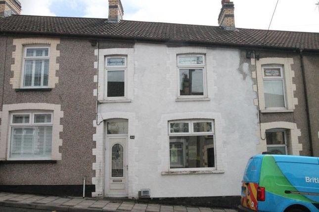 Thumbnail Terraced house for sale in Fair View, Cefn Fforest, Blackwood