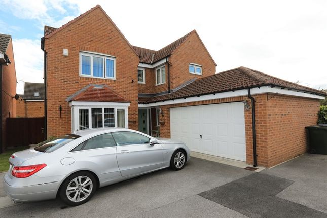 Thumbnail Detached house for sale in Kingfisher Drive, Wombwell, Barnsley