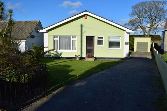 Thumbnail Detached bungalow for sale in Barlowena, Camborne