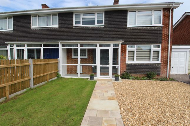 3 bed semi-detached house to rent in Powis Close, New Milton, Hampshire BH25