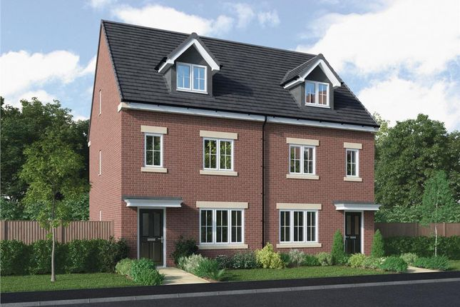 """4 bed semi-detached house for sale in """"The Rolland"""" at Stannington Road, North Shields NE29"""