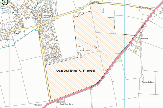 Thumbnail Land for sale in New Road, Banbury