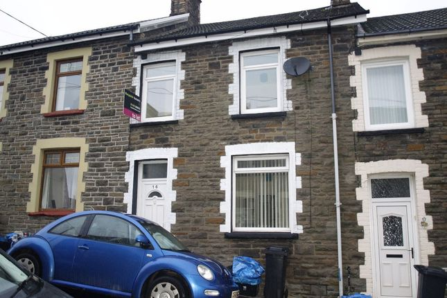Thumbnail Terraced house to rent in Fell Street, Treharris