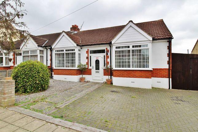 Thumbnail Semi-detached bungalow for sale in Laburnum Avenue, Drayton, Portsmouth