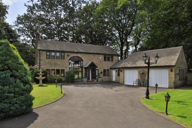Thumbnail Detached house for sale in Stubley New Barn, Stubley Lane, Littleborough