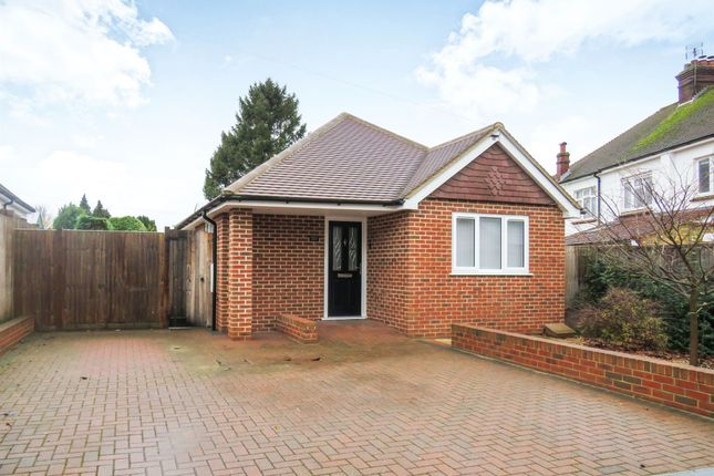 Thumbnail Detached bungalow for sale in Woodland Way, Penenden Heath, Maidstone