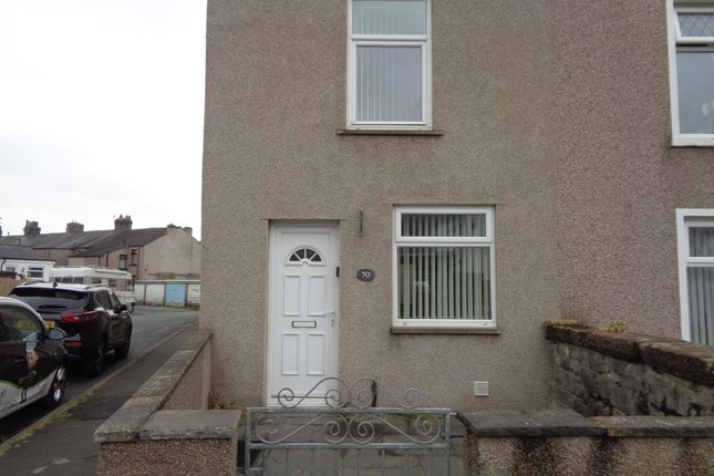 Thumbnail End terrace house to rent in Broughton Road, Dalton-In-Furness