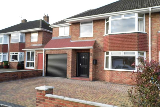 Thumbnail Semi-detached house to rent in Parklands Road, Swindon