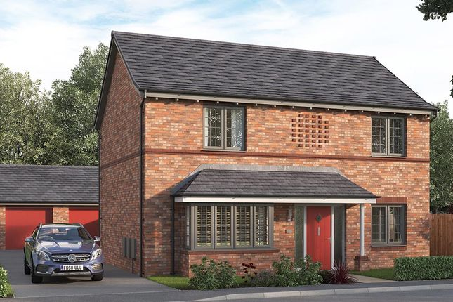 "Thumbnail Property for sale in ""The Amersham"" at Steeplechase Way, Market Harborough"