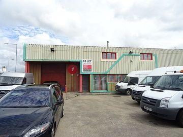 Thumbnail Industrial to let in Llwyn Y Graig, Garngoch