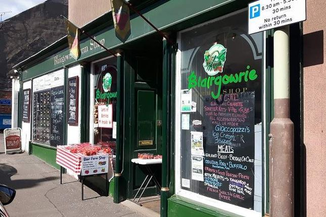 Thumbnail Retail premises for sale in Reform Street, Blairgowrie