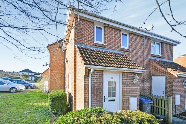 Thumbnail End terrace house for sale in Phillip Close, Devizes