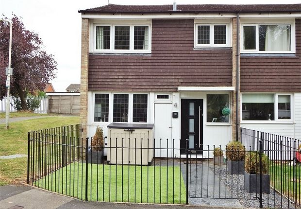 Thumbnail End terrace house for sale in Lakeside Gardens, Farnborough, Hampshire